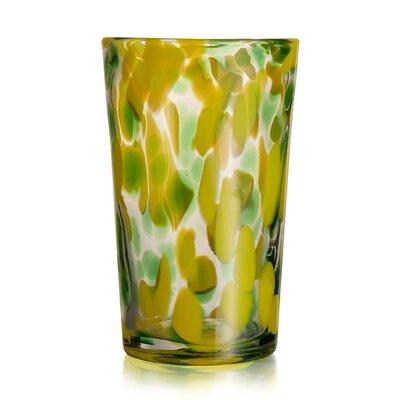 Splash 22 oz. Glass Highball Glass Color: Green 229181-4hb