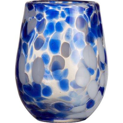 Splash Stemless Glass Color: Blue 229180-4st