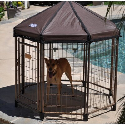 Original Pet Gazebo Yard Kennel Size: 48 H x 48 W x 48 L