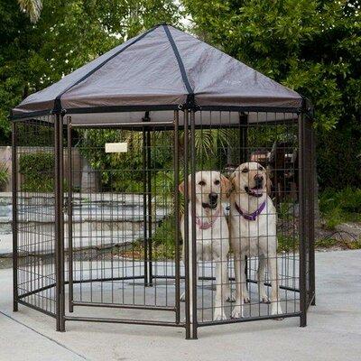 Original Pet Gazebo Yard Kennel Size: 60 H x 60 W x 60 L