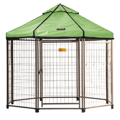 Advantek Halpern Pet Gazebo Color: River Grass