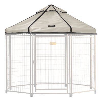 Select Medium Pet Gazebo Cover Color: Beach Sand