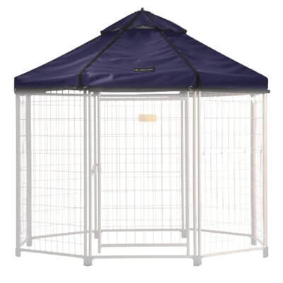 Select Medium Pet Gazebo Cover Color: Cobalt Sky