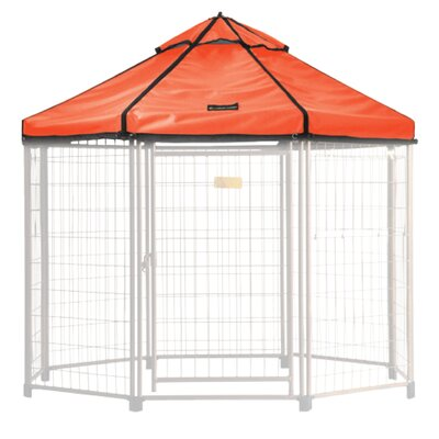 Halpern Medium Pet Gazebo Cover Color: Desert Sunset