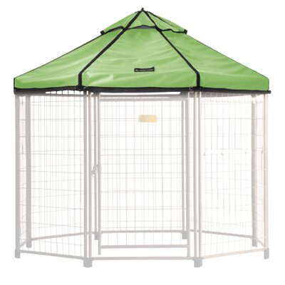 Select Medium Pet Gazebo Cover Color: River Grass