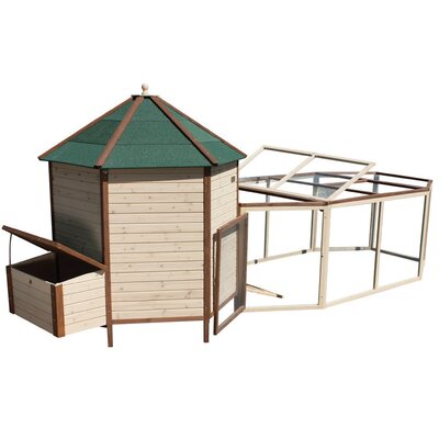 Marty Tower Chicken Coop with Run