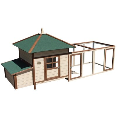 Arts and Crafts Prairie Home Chicken Coop