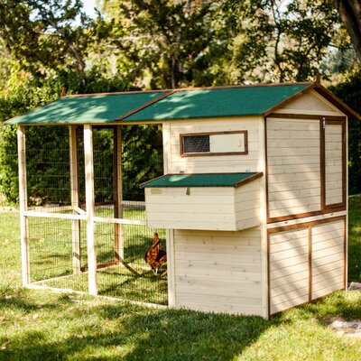 Arts and Crafts Town House Chicken Coop