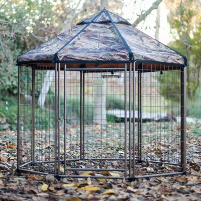 Halpern Medium Pet Gazebo Cover Color: Dark Forest