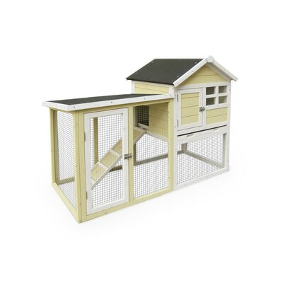 The Stilt House Rabbit Hutch Color: Yellow