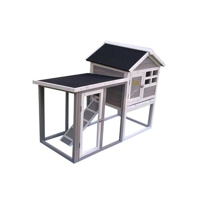 Gatsby The Stilt House Rabbit Hutch Color: Grey