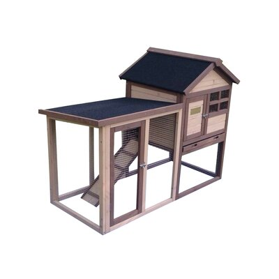 The Stilt House Rabbit Hutch Color: Tan