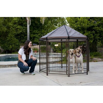 Original Pet Gazebo Yard Kennel Size: 60 H x 60 W x 60 L