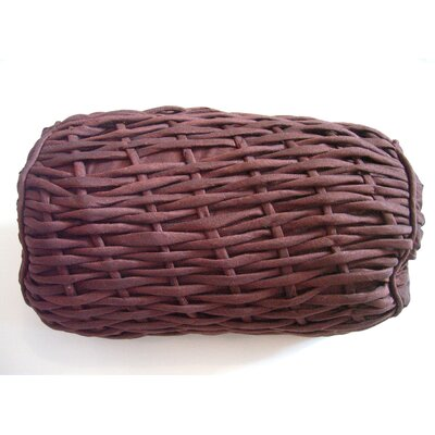 AV Home Rope Bolster Pillow Color: Chocolate