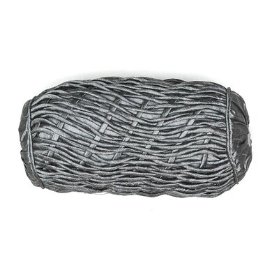 AV Home Rope Bolster Pillow Color: Silver
