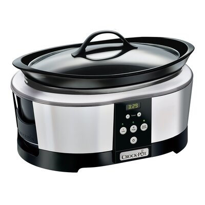 6 Qt. Smart Slow Cooker with WeMo� SCCPWM600-V1