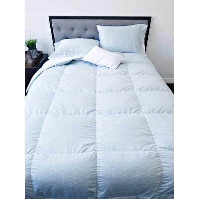 Sewn Down Comforter Size: Queen, Fill Warmth: Midweight