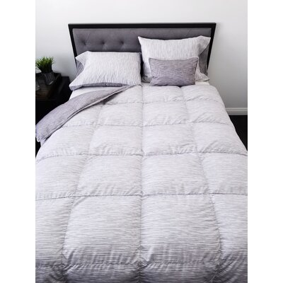 Ultra-soft Down Comforter Size: King/California King, Fill Warmth: Midweight