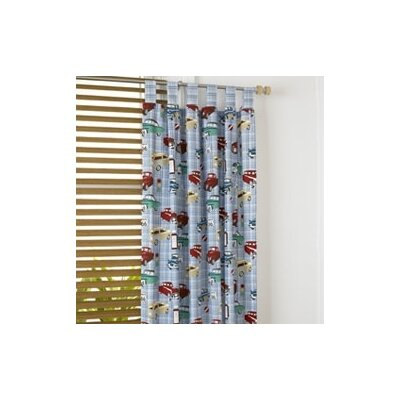 Motor Club Printed Tab Top Curtains