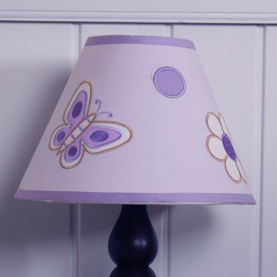 7 Polyester / Cotton Empire Lamp Shade Color: Lavendar