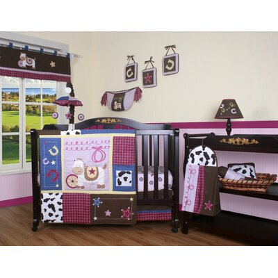GEENNY Boutique Western Cowgirl 13 Piece Crib Bedding Set