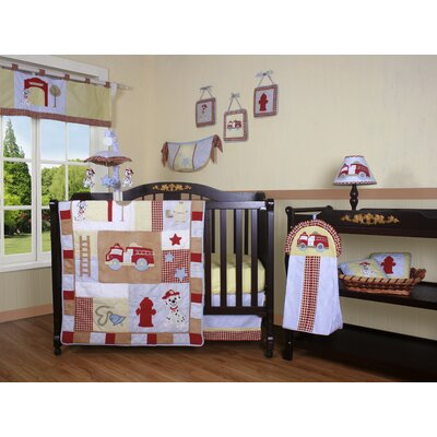 GEENNY Boutique Fire Truck 13 Piece Crib Bedding Set at Sears.com