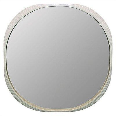 Deja vu mirror white round mirror large reviews price for Large white round mirror