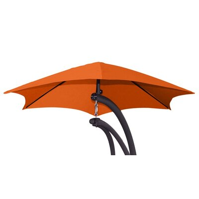 4 The Original Dream Cantilever Umbrella Color: Orange Zest