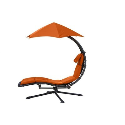 The Original Dream 360� Chair Hammock Color: Orange Zest