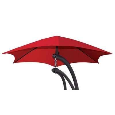 4 The Original Dream Cantilever Umbrella Color: Cherry Red