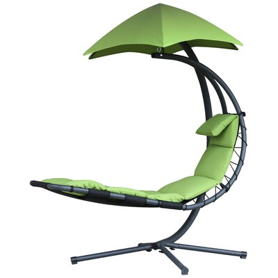 The Original Dream Chaise Lounge with Cushion Color: Green Apple