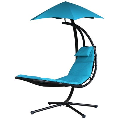 The Original Dream Chaise Lounge with Cushion Color: True Turquoise