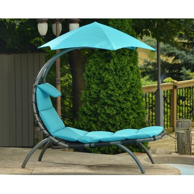 The Original Chaise Lounge Fabric: True Turquoise