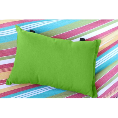 Throw Pillow Color: Green Apple