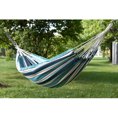 Brazilian Sunbrella Tree Hammock Color: Token Surfside