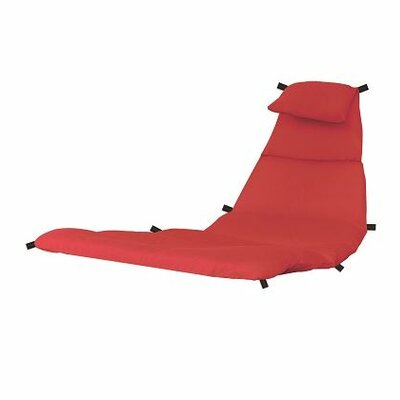 The Original Dream Lounge Chair Cushion Fabric: Cherry Red