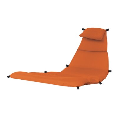 The Original Dream Lounge Chair Cushion Fabric: Orange Zest