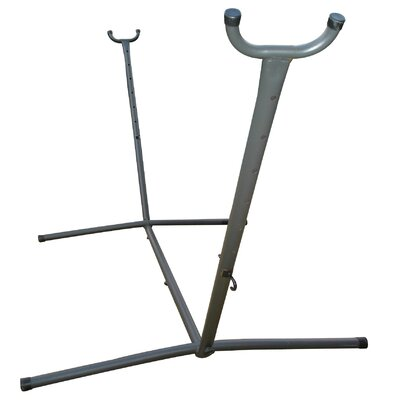 Powder Coated Steel Hammock Stand Finish: Charcoal