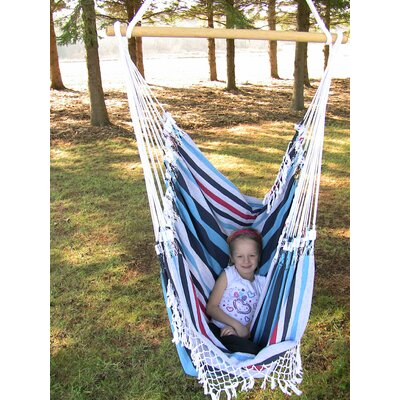 Cohen Cotton Chair Hammock Color: Denim