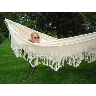 Vivere Hammocks Brazilian Double Deluxe Fabric Hammock at Sears.com