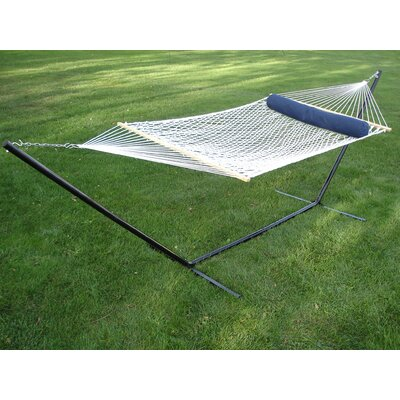 Polyester Rope Camping Hammock Color: White