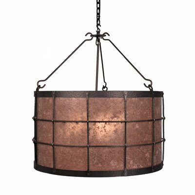 Ferron Forge 3-Light Drum Pendant