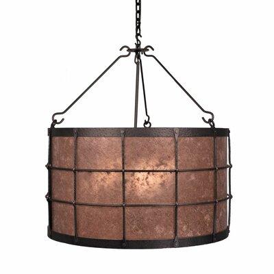Ferron Forge 3-Light Drum Pendant