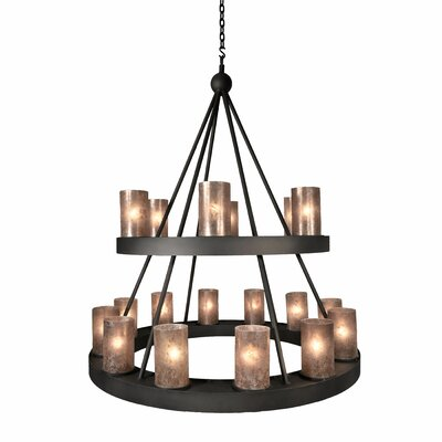 Montecito 18-Light Candle-Style Chandelier