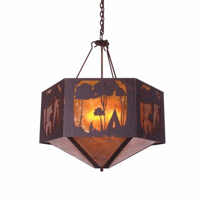 Wallowa 4-Light Pendant