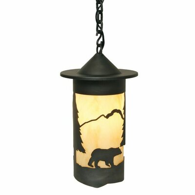 Pasadena Bear 1-Light Mini Pendant