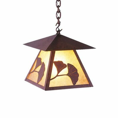 Gingko Prairie 1-Light Mini Pendant