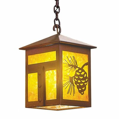 Mission 1-Light Mini Pendant Size: 13 H x 9.5 W x 9.5 D
