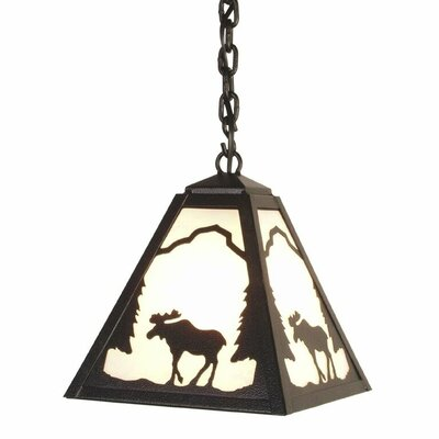 Timber Ridge Moose 1-Light Mini Pendant