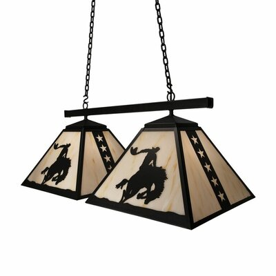 8 Seconds 2-Light Kitchen Island Pendant
